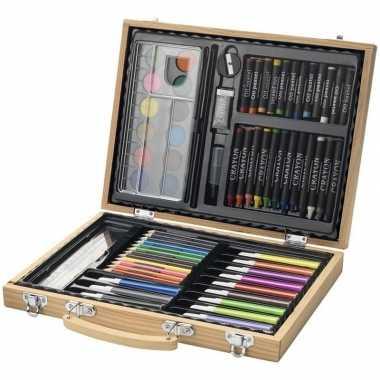 Groothandel complete kleurset in koffer speelgoed kopen