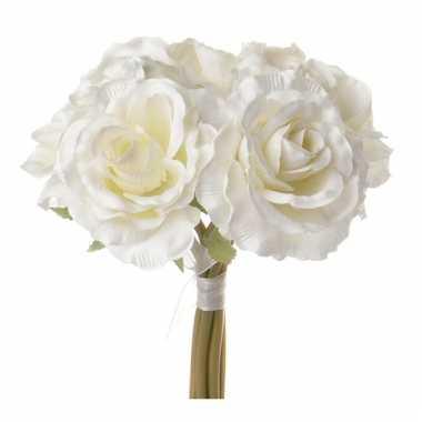 Groothandel cremekleurig rozen boeket speelgoed kopen