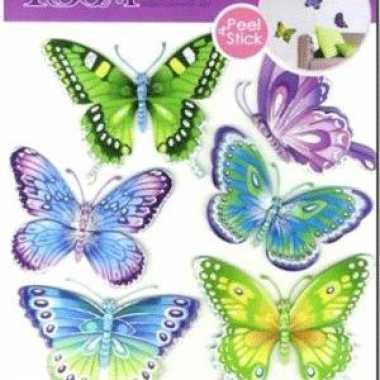 Groothandel decoratie stickers vlinders speelgoed kopen