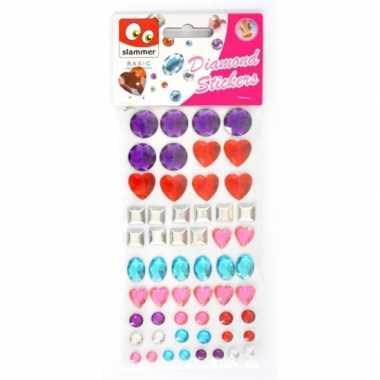 Groothandel diamant stickers in zak speelgoed kopen