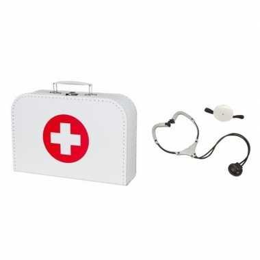 Groothandel dokters accessoires verkleed koffertje met stethoscoop vo