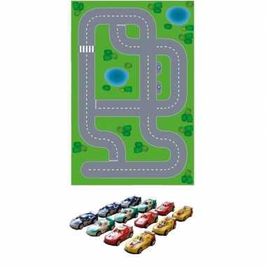Groothandel dorp xl diy speelgoed stratenplan/ kartonnen speelkleed +