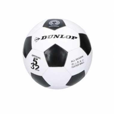 Groothandel dunlop junior voetbal maat 5 zwart / wit speelgoed kopen