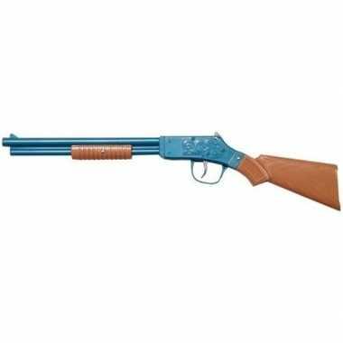 Groothandel feest/verkleed cowboy geweer shotgun 50 cm voor kinderen/