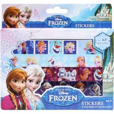 Groothandel frozen sticker doos met 4 stickervellen speelgoed kopen