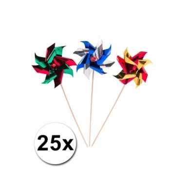 Groothandel gekleurde windmolen prikkers 19 cm speelgoed kopen
