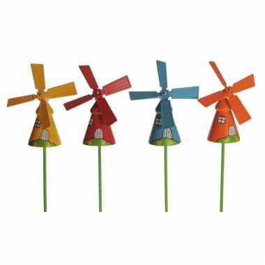 groothandel gekleurde windmolen voor in de tuin speelgoed