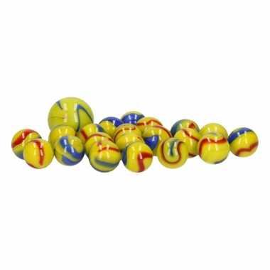Groothandel glazen knikkers speelgoed 20x snotty earthman kopen