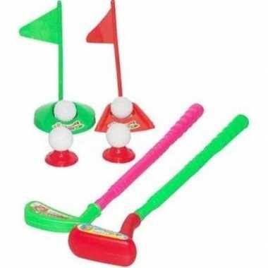 Groothandel golfen speelgoed set midgetgolf voor 2 personen kopen