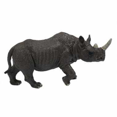 Groothandel grijze speelgoed neushoorn 12 cm kopen