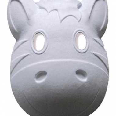 Groothandel grimeer maskers zebra speelgoed kopen