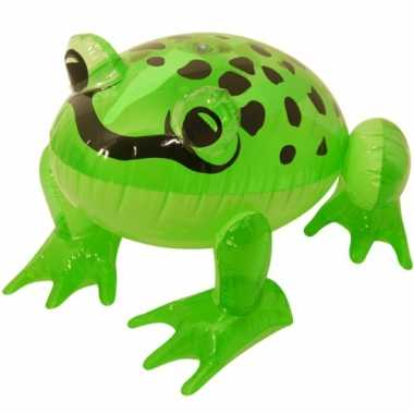 Groothandel groene opblaas kikker 40 cm speelgoed kopen