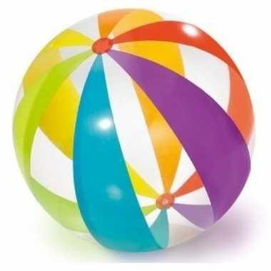 Groothandel grote opblaasbare doorzichtige strandbal met kleuren 76 c