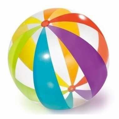 Groothandel grote opblaasbare doorzichtige strandbal met kleuren 82 c
