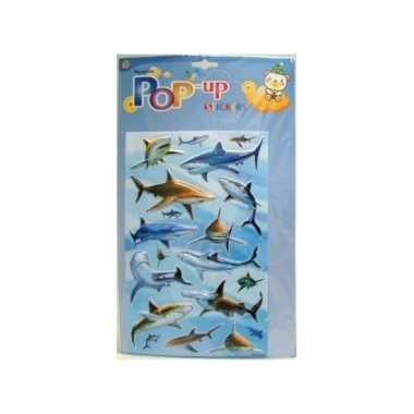 Groothandel haaien plakplaatjes 3d speelgoed kopen