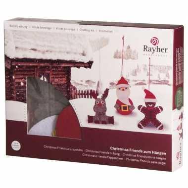 Groothandel hobbysetje kersthangers speelgoed kopen
