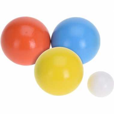 Groothandel houten jeu de boules sets met 18 ballen actief speelgoed voor kinderen kopen