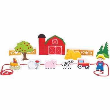 Groothandel houten speelgoed boerderij met dieren kopen