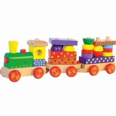 Groothandel houten speelgoed treintje met geluid kopen