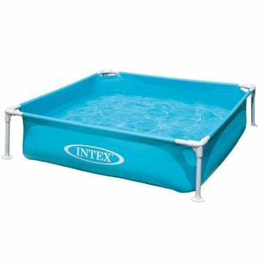Groothandel intex vierkant buiten zwembad 122 x 122 cm speelgoed kope