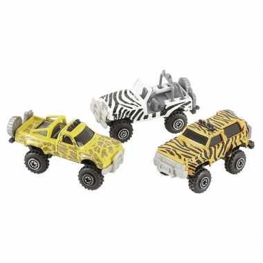 Groothandel jeepsafari speelgoed auto giraf print kopen