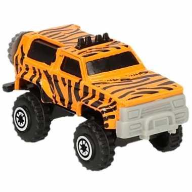 Groothandel jeepsafari speelgoed auto tijger print kopen