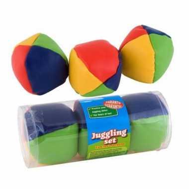Groothandel jongleerballetjes drie stuks speelgoed kopen