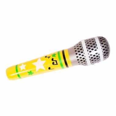 Groothandel jumbo opblaasbare microfoon 88 cm speelgoed