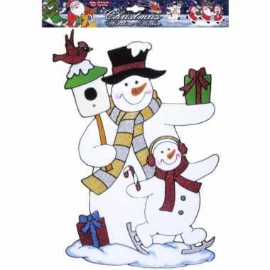 Groothandel kerst raamsticker sneeuwpop speelgoed kopen