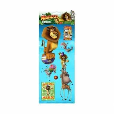 Groothandel kinder 3d stickers madagascar speelgoed kopen
