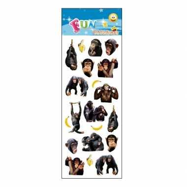 Groothandel kinder apen stickers speelgoed kopen