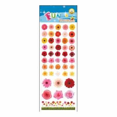 Groothandel kinder bloemen stickers speelgoed kopen