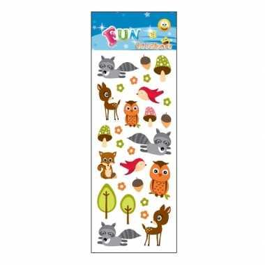 Groothandel kinder bosdieren stickers speelgoed kopen
