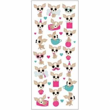 Groothandel kinder chihuahua honden stickers speelgoed kopen