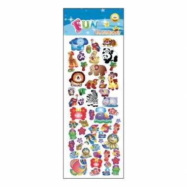 Groothandel kinder dieren stickers speelgoed kopen