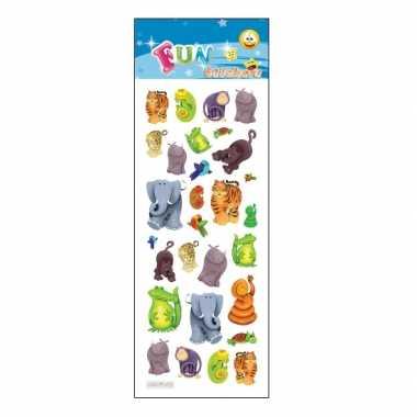 Groothandel kinder jungle dieren stickers speelgoed kopen