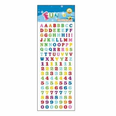 Groothandel kinder letters en cijfers stickers speelgoed kopen