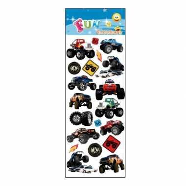 Groothandel kinder monstertruck stickers speelgoed kopen