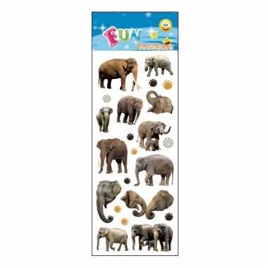 Groothandel kinder olifanten stickers speelgoed kopen
