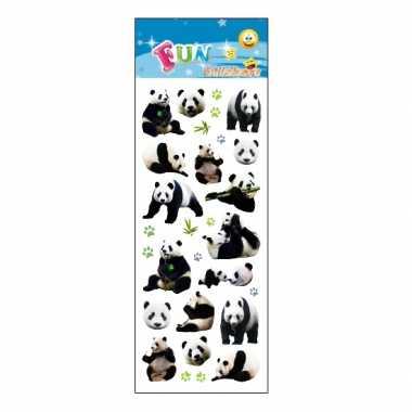 Groothandel kinder pandaberen stickers speelgoed kopen