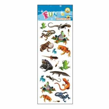 Groothandel kinder reptielen stickers speelgoed kopen