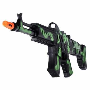 Groothandel kinder speelgoed verkleedwapen/machinegeweer soldaten/leger met geluid 50 cm kopen