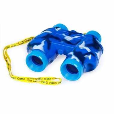Groothandel kinder speelgoed verrekijker blauw voor peuters 14 cm kopen