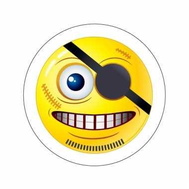 Groothandel kinder sticker piraten smiley type 8 speelgoed kopen