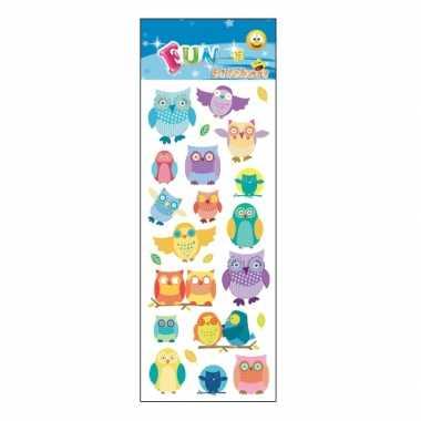 Groothandel kinder uilen stickers speelgoed kopen