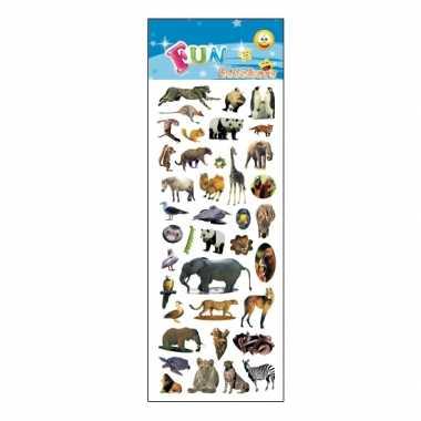 Groothandel kinder verschillende dieren stickers speelgoed kopen