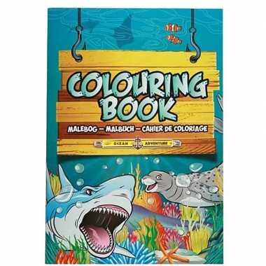 Groothandel kinderspeelgoed oceaan dieren thema kleurplaten a4 formaa