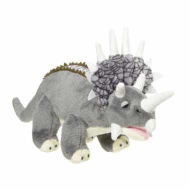 Groothandel knuffel triceratops 28 cm speelgoed kopen