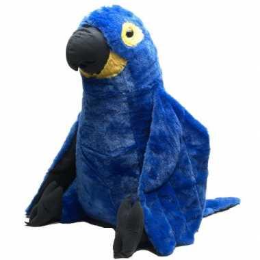 Groothandel knuffeldier blauwe papegaai 76 cm speelgoed kopen