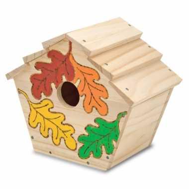 Groothandel knutsel vogelhuisjes voor kinderen speelgoed